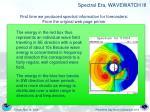 spectral era wavewatch iii