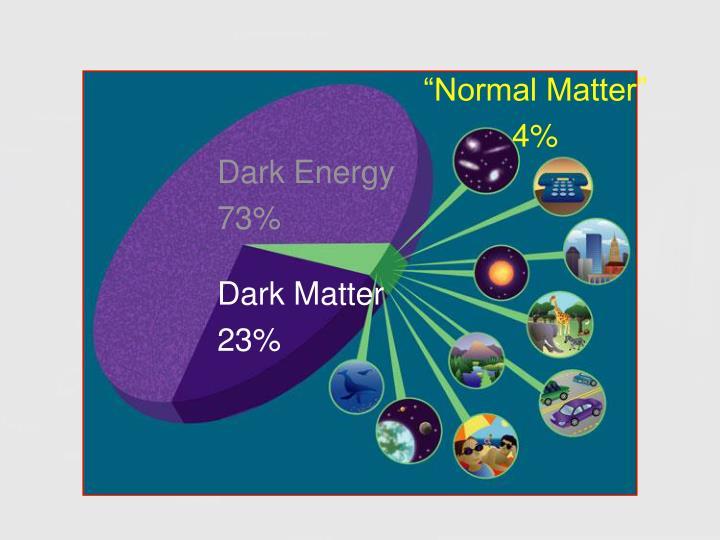 """""""Normal Matter"""""""