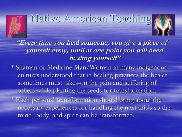 Native American Teaching
