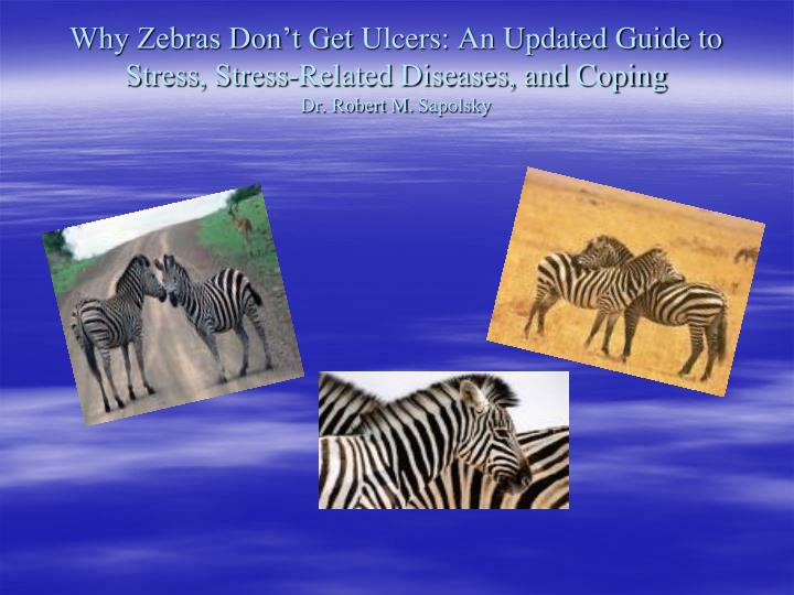 Why Zebras Don't Get