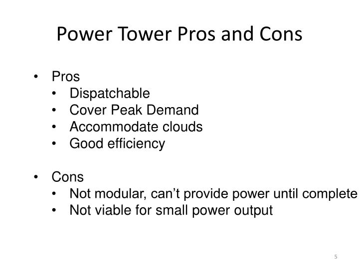 Power Tower Pros and Cons