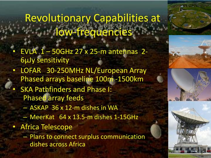 Revolutionary Capabilities at
