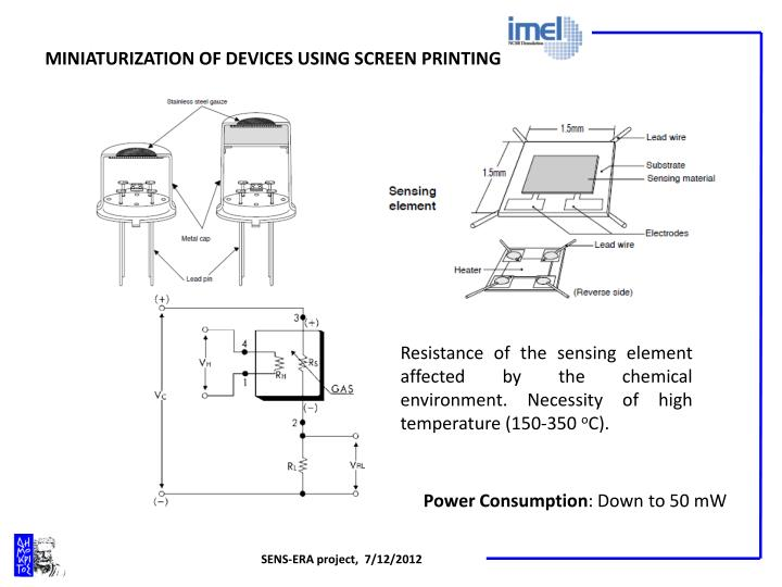 MINIATURIZATION OF DEVICES USING SCREEN PRINTING