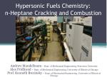 hypersonic fuels chemistry n heptane cracking and combustion