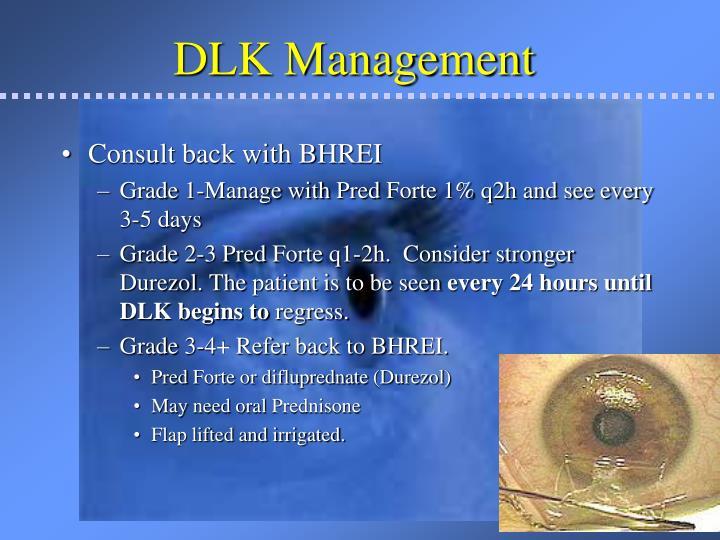 DLK Management