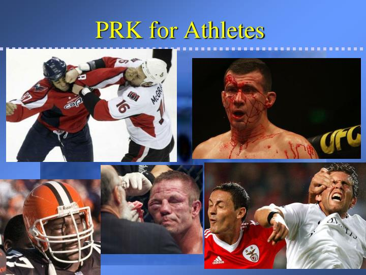 PRK for Athletes