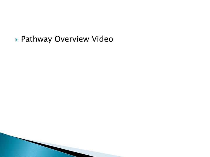 Pathway Overview Video