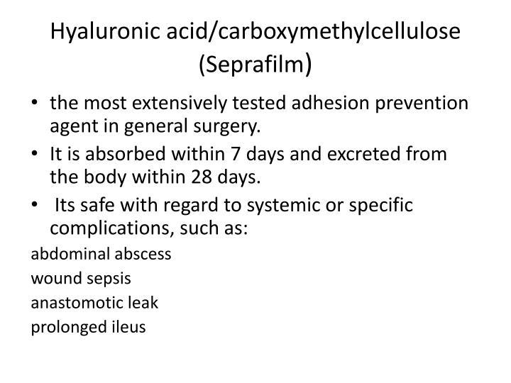 Hyaluronic acid/
