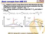 basic concepts from ame 513