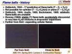 flame balls history