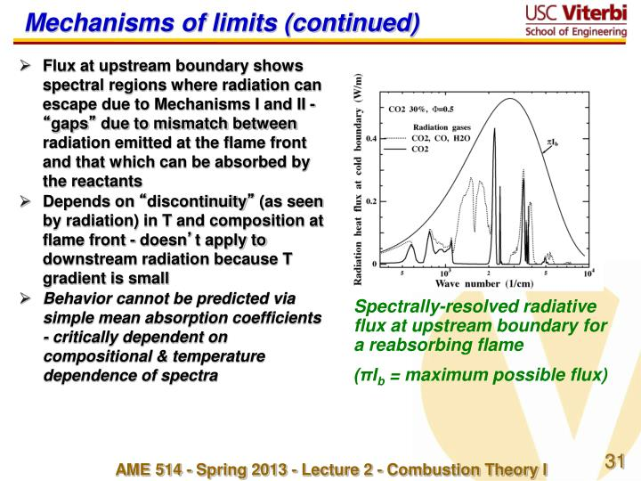 Mechanisms of limits (continued)