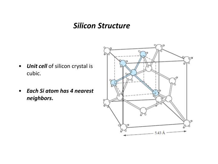 Silicon Structure