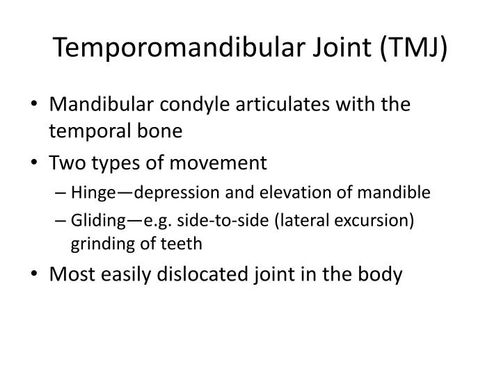 Temporomandibular