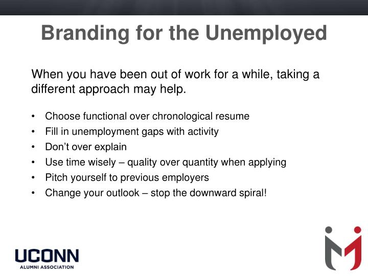 Branding for the Unemployed