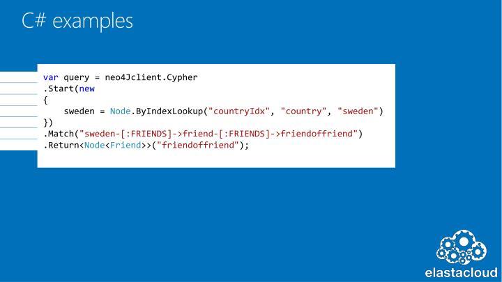 C# examples