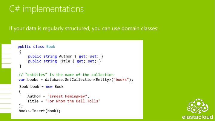 C# implementations