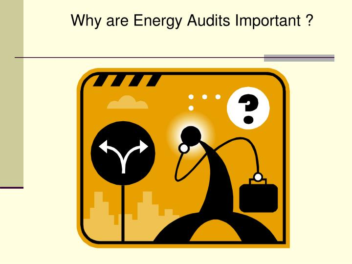 Why are Energy Audits Important ?