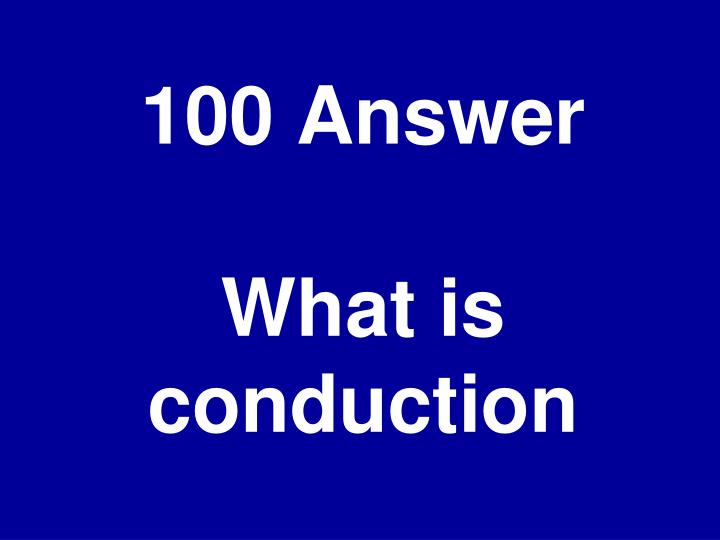 100 Answer