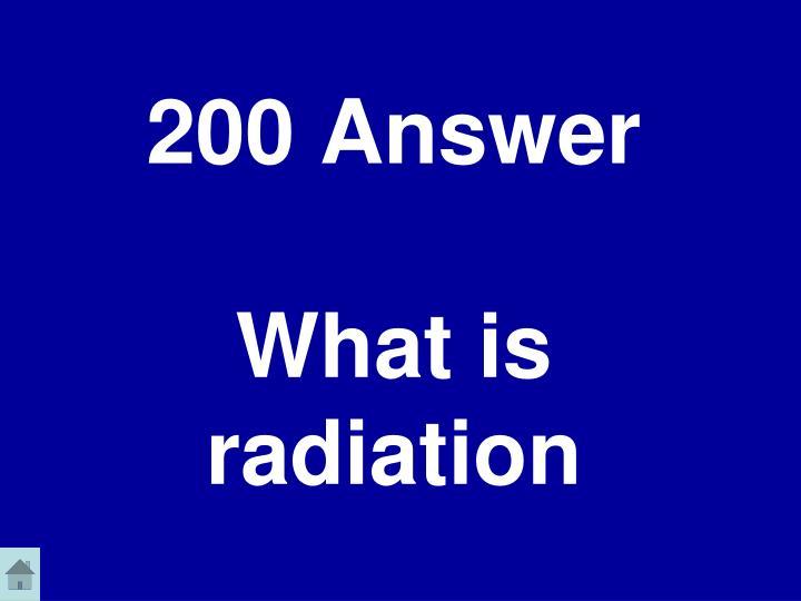 200 Answer