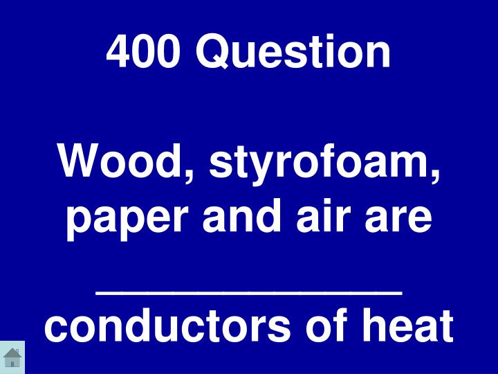 400 Question