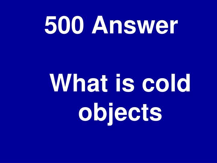 500 Answer