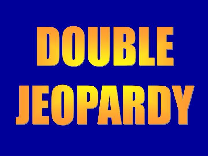 Double Jeopardy 2