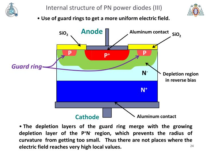 Internal structure of PN power diodes (III)