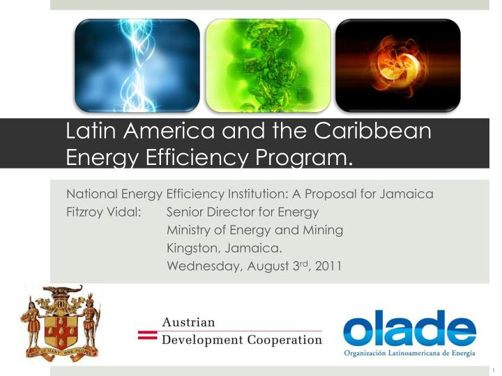 Latin america and the caribbean energy efficiency program
