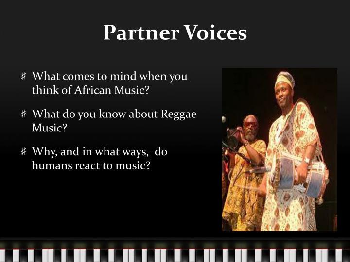 Partner Voices