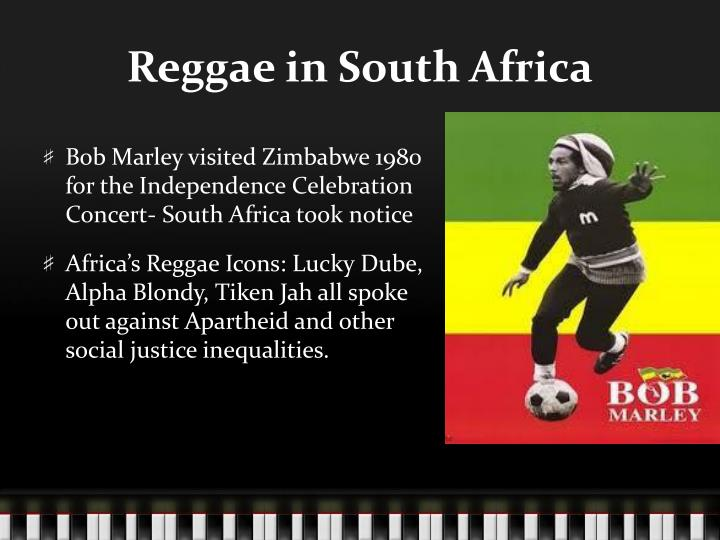 Reggae in South Africa