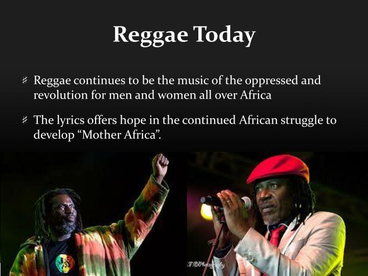 Reggae Today