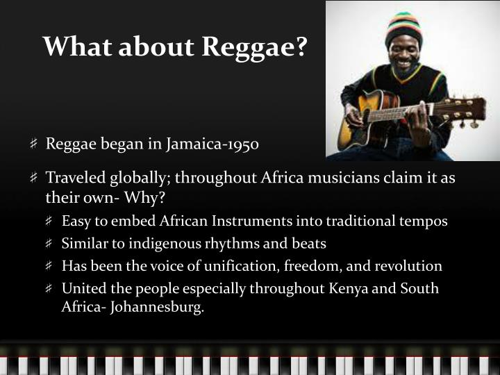 What about Reggae?