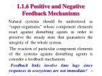 1 1 6 positive and negative feedback mechanisms