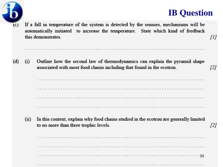 IB Question