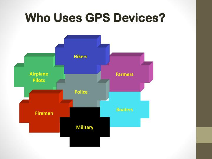 Who Uses GPS Devices