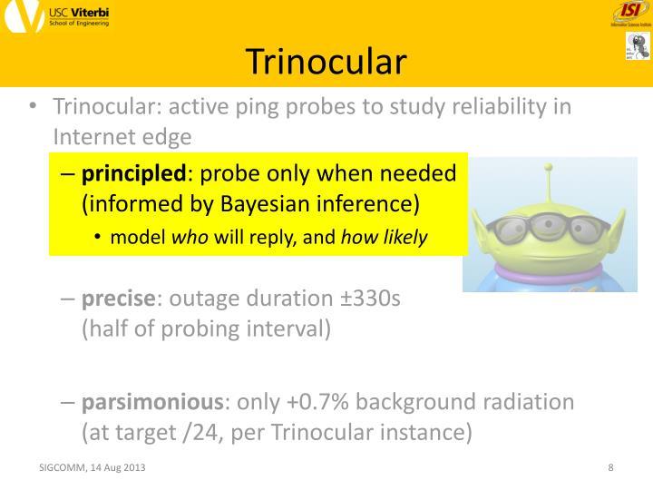 Trinocular