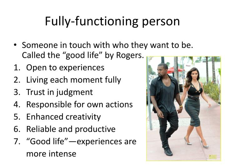 Fully-functioning person