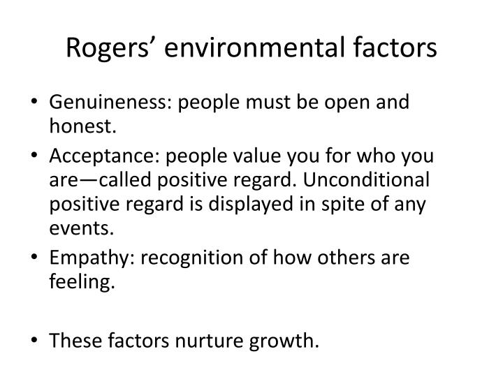 Rogers' environmental