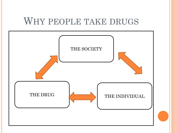 Why people take drugs