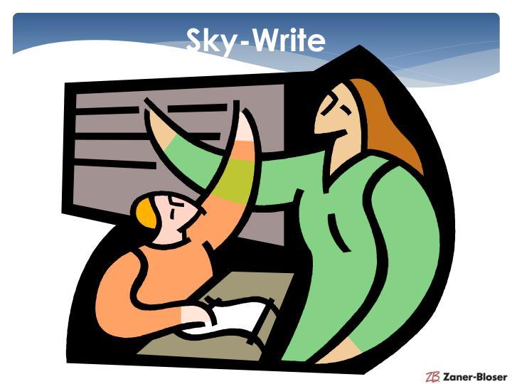 Sky-Write