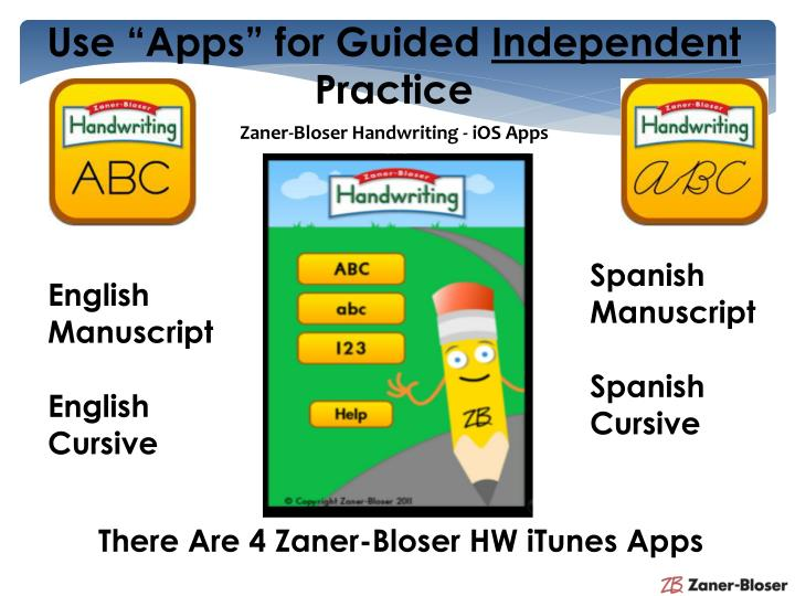 "Use ""Apps"" for Guided"