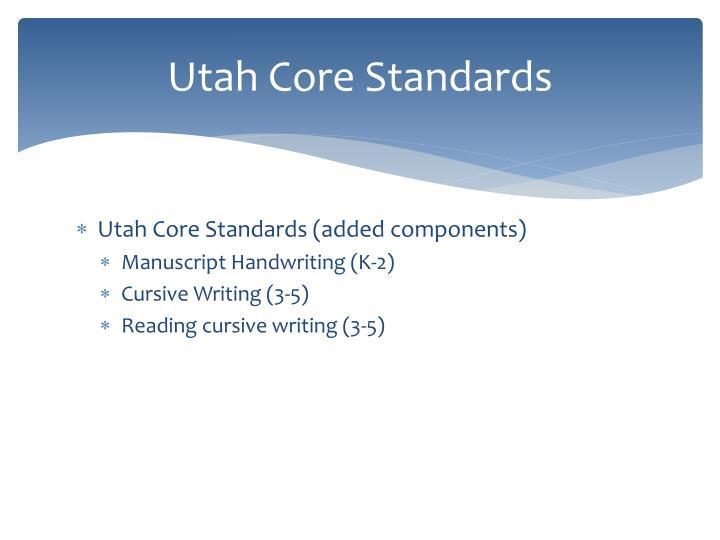 Utah Core Standards