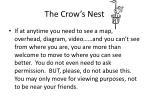 the crow s nest