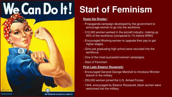 Start of Feminism