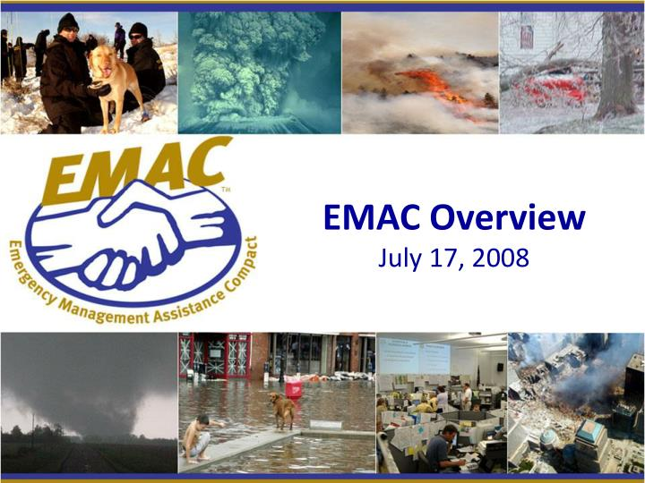 Emac overview july 17 2008