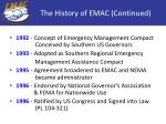 the history of emac continued