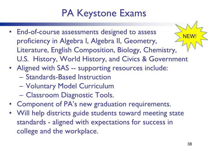 PA Keystone Exams