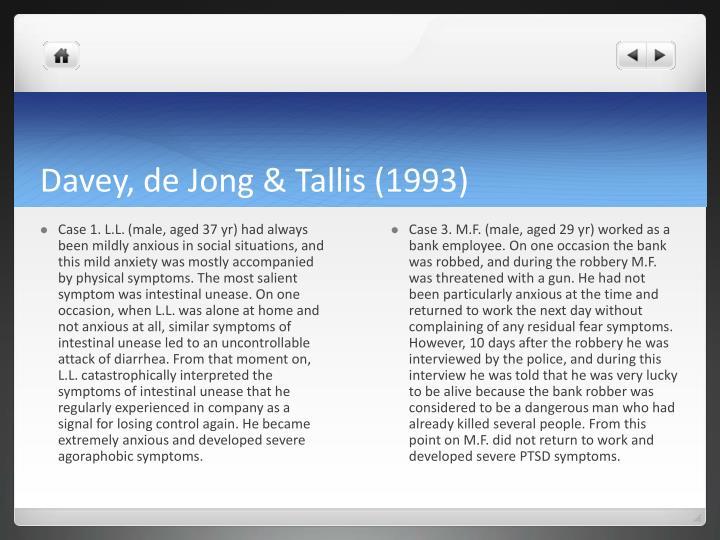Davey, de Jong &