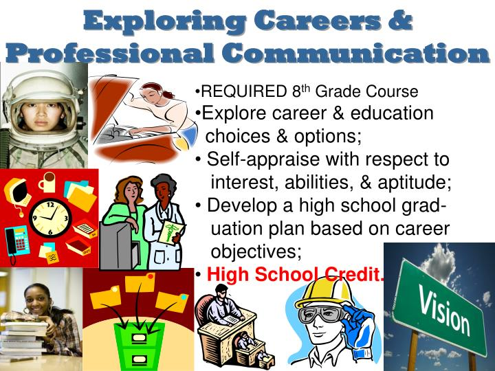 Exploring Careers & Professional Communication