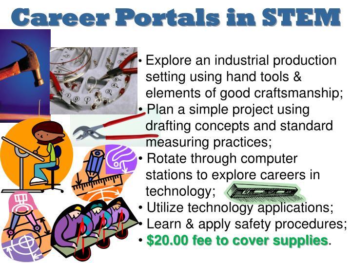 Career Portals in STEM